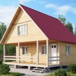 построить двухскатную крышу своими руками