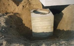 строительство дренажного колодца